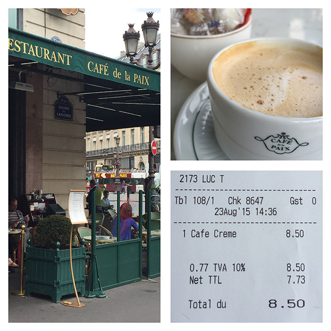 Cafe de la Paix, Palais Garnier, Paris. All Things French