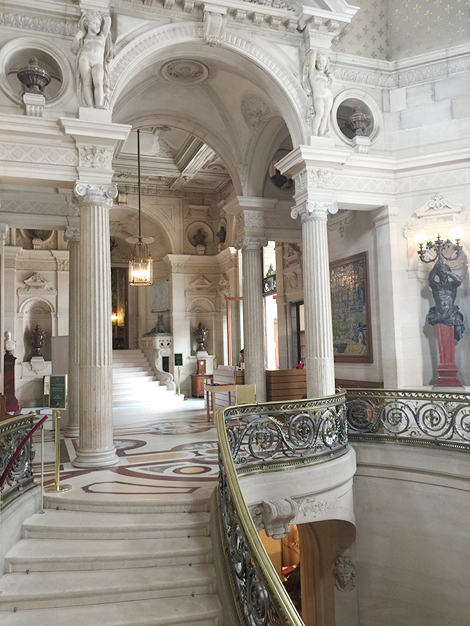 Chateau de Chantilly, Domaine de Chantilly, Staircase | All Things French