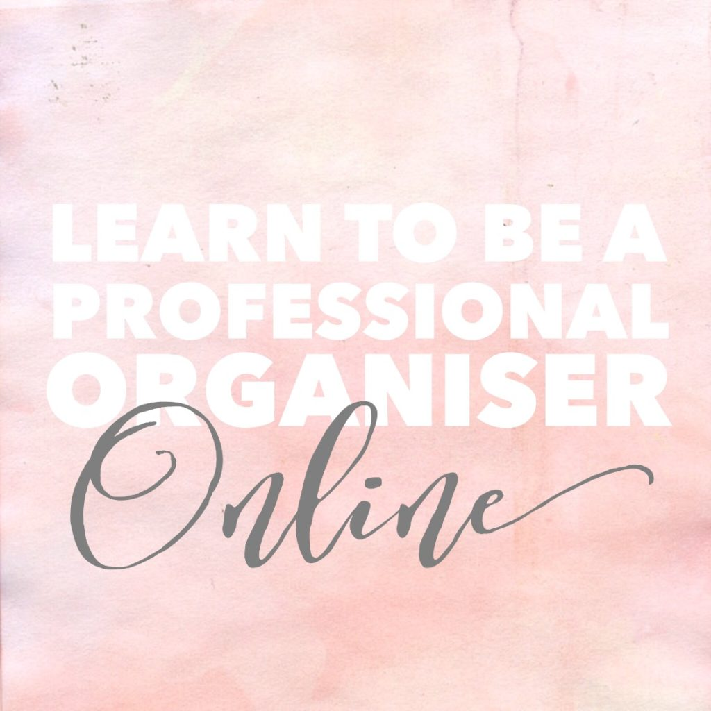 Learn to be a Professional Organiser Online