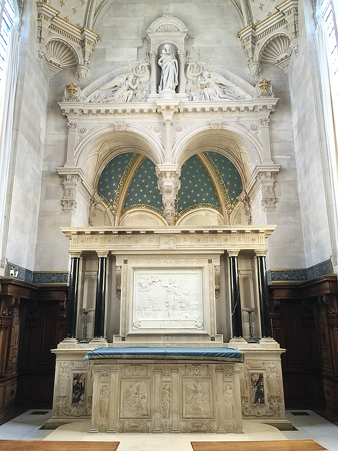 Chateau de Chantilly, Domaine de Chantilly, Chapel | All Things French