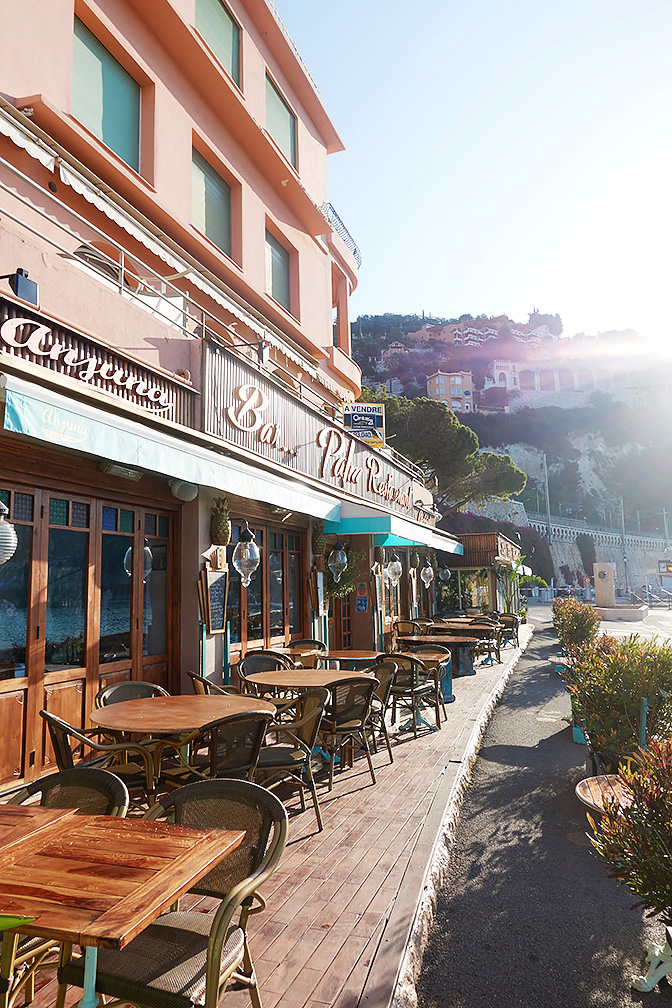Villefranche-sur-Mer-All-Things-French-Harbourside Restaurant
