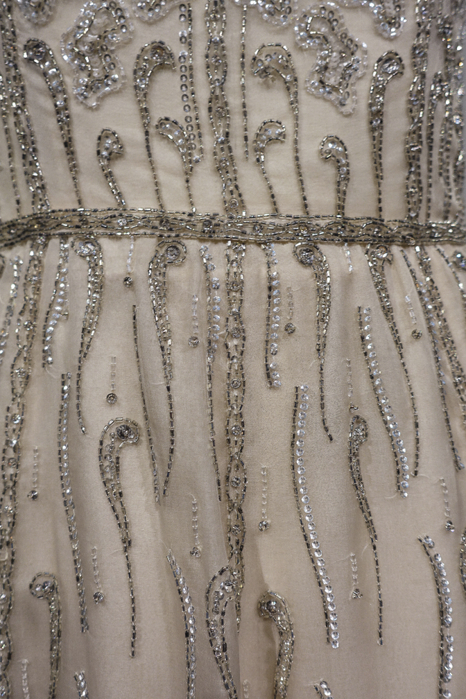 Dalida Exhibition Details Sequins