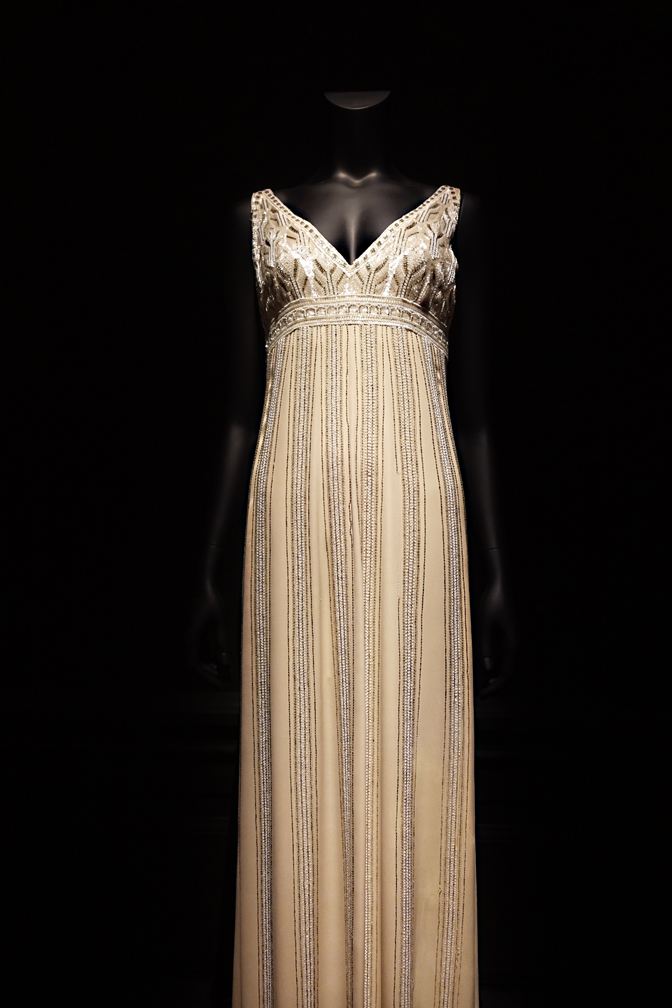 Dalida Exhibition Full Length Evening Dress