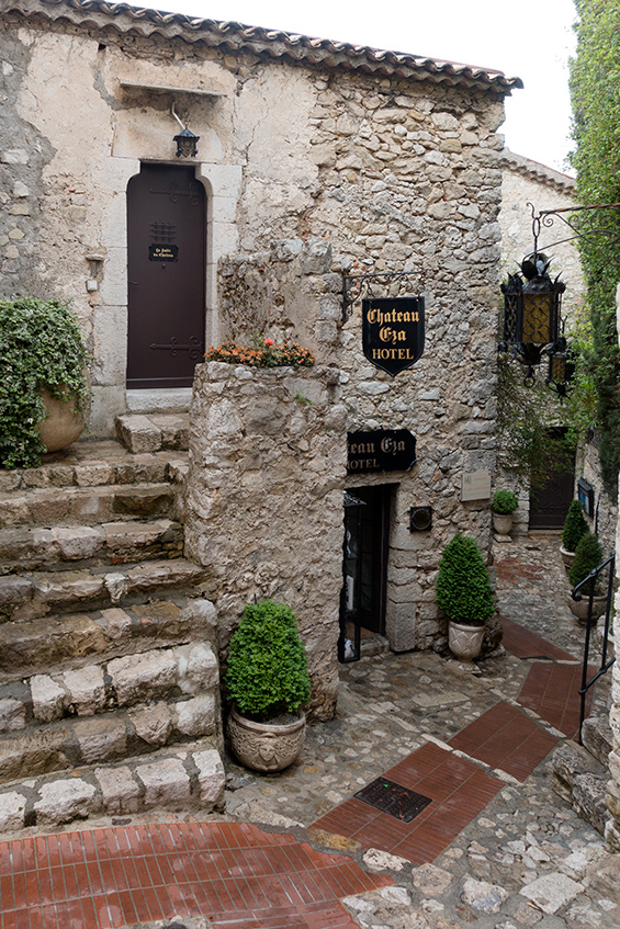 Eze Village, Cote d'Azur, Le Jardin Exotique | All Things French