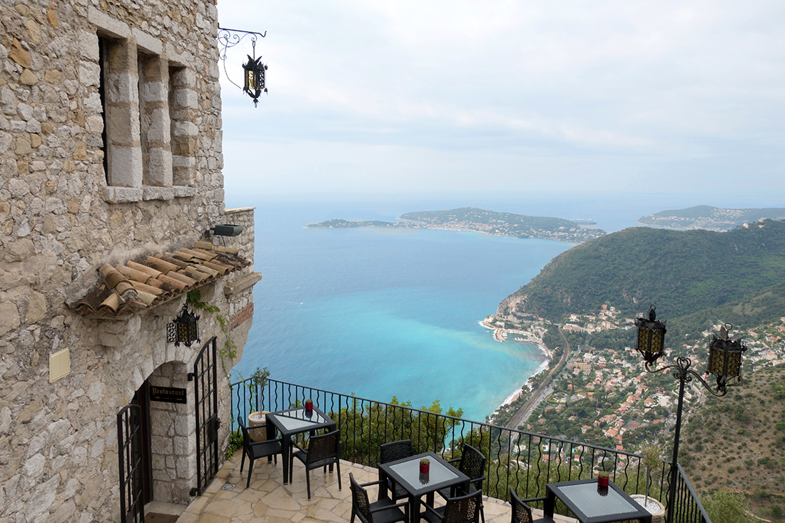 Hotel Eza, Terrace,, Eze, Mediterannean | All Things French