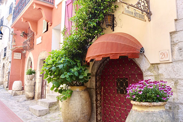 Visit La Turbie on the Riviera with All Things French. 10 Day Women's Tour