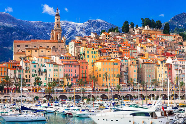 Visit Menton on the Riviera with All Things French. 10 Day Women's Tour