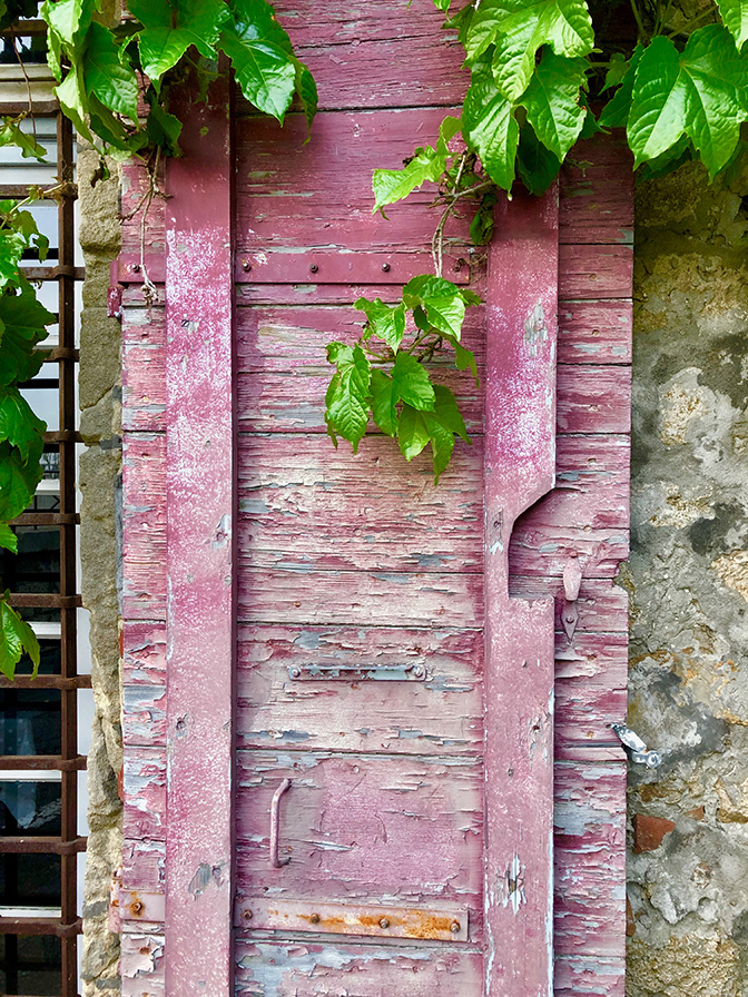 Arles, Gateway to the Camargue and Luberon Pink Shutters