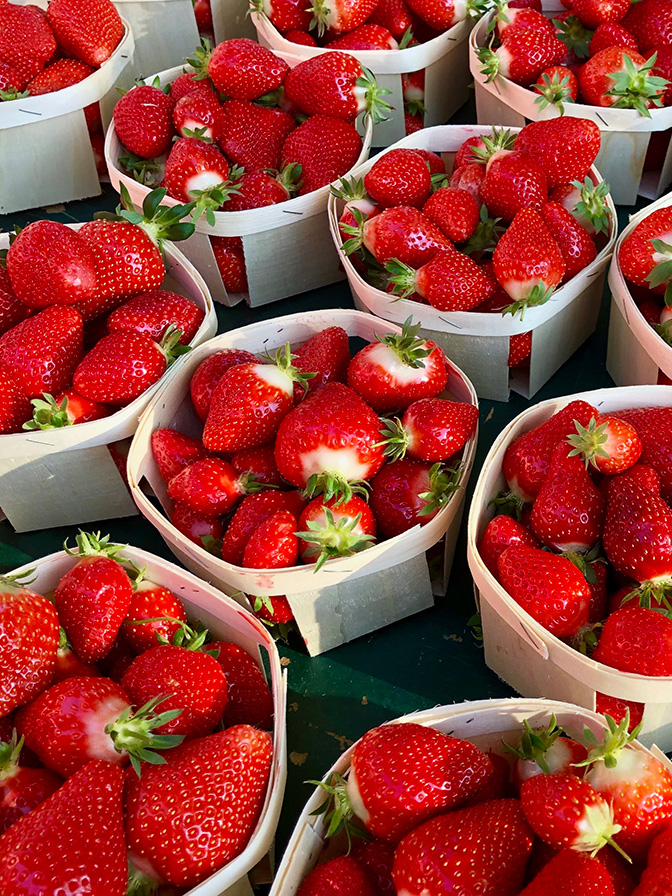Delicious Strawberries, Arles, Gateway to the Camargue and Luberon