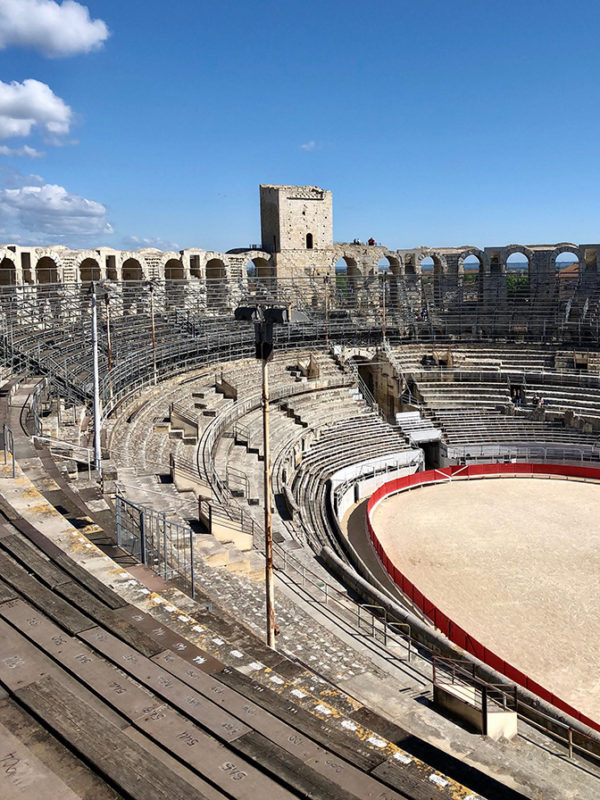 Roman Ampitheatre, Arles, Gateway to the Camargue and Luberon