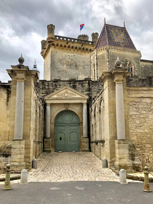 Ducal Palace. Castle of Uzes. Provence Alpes Cote d'Azur. All Things French TOURS.
