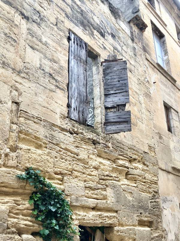 Grey Shutters. Uzes. Provence Alpes Cote d'Azure. All Things French TOURS