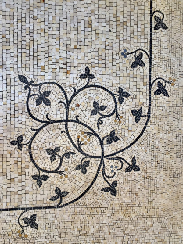 Mosaic Floor, Villa Ephrussi de Rothschild, Villefranche sur Mer, All Things French