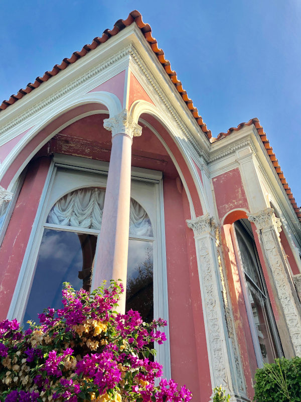 Pink Perfection, Villa Ephrussi de Rothschild, Villefranche sur Mer, All Things French