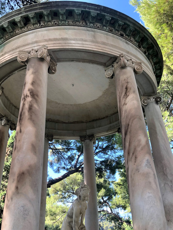 Rotunda, Villa Ephrussi de Rothschild, Villefranche sur Mer, All Things French