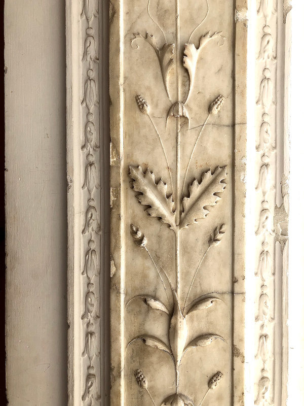 Carving, Villa Ephrussi de Rothschild, Villefranche sur Mer, All Things French
