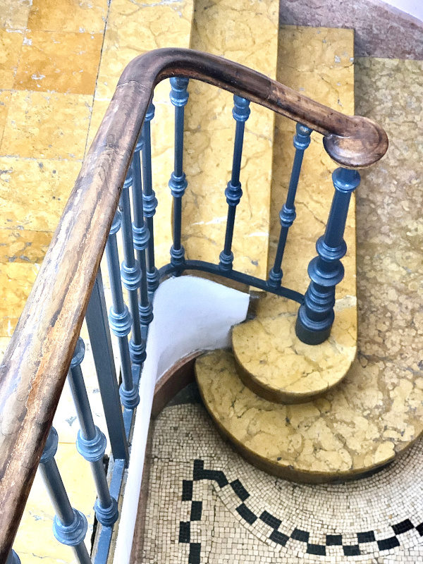 Stairs, Villa Ephrussi de Rothschild, Villefranche sur Mer, All Things French