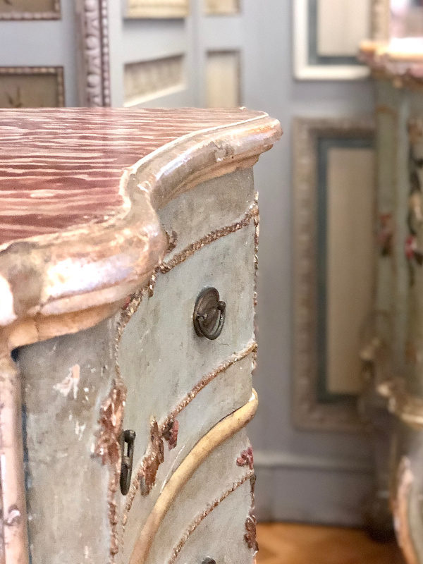 Sideboard, Villa Ephrussi de Rothschild, Villefranche sur Mer, All Things French