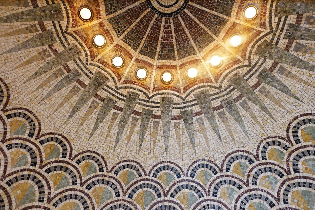 Stunning Mosaic Floor Detail Villa Kerylos