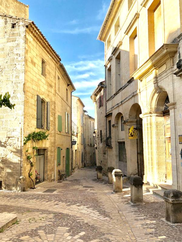Perfect Paving. Uzes. Provence Alpes Cote d'Azure. All Things French TOURS