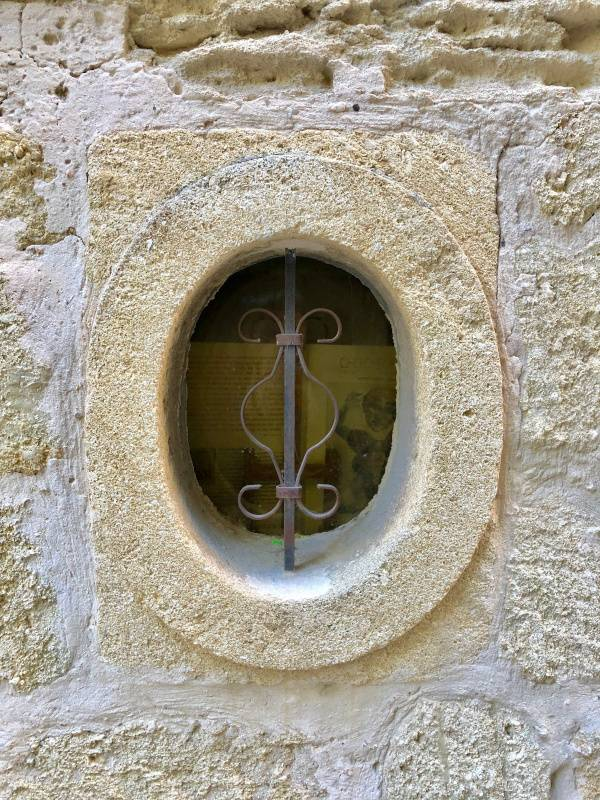 Perfection. Oval Window. Uzes. Provence Alpes Cote d'Azure. All Things French TOURS