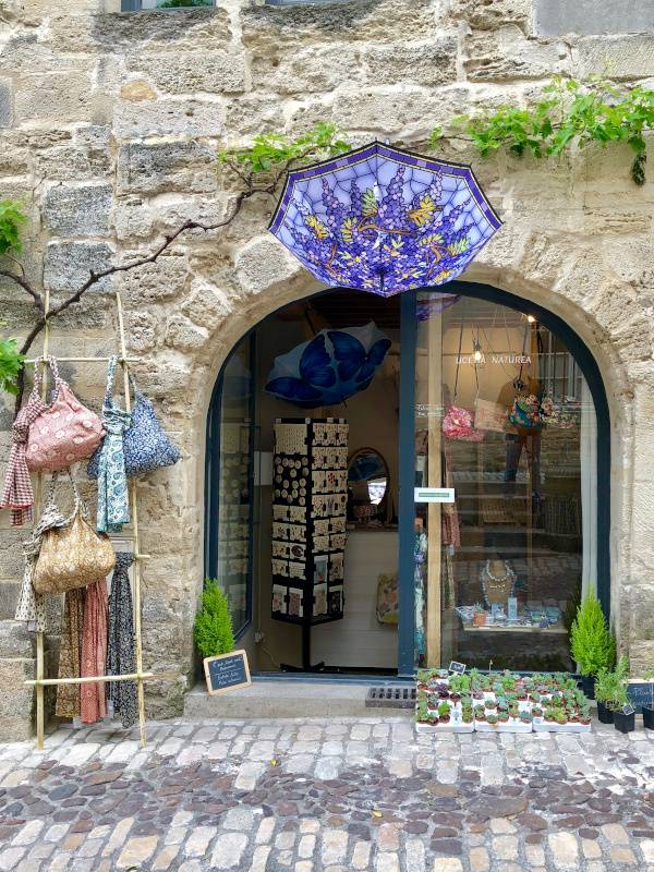Shopfront. Uzes. Provence Alpes Cote d'Azure. All Things French TOURS
