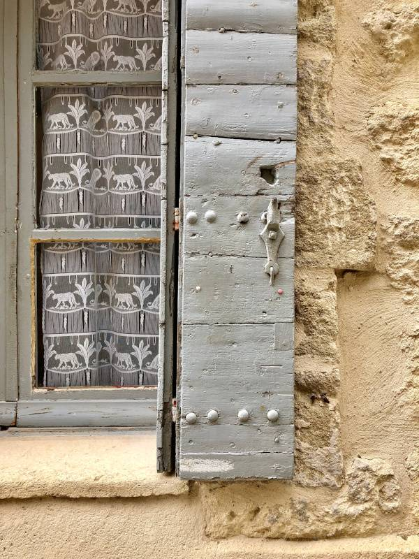 Shutters and Lace. Uzes. Provence Alpes Cote D'Azur. All Things French TOUR