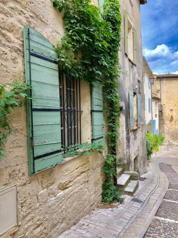 Shutters. Uzes. Provence Alpes Cote d'Azure. All Things French TOURS