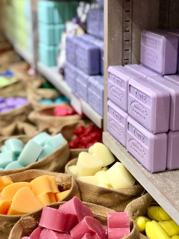 Soaps. Uzes. Provence Alpes Cote d'Azure. All Things French TOURS