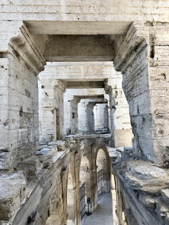 Roman Architecture and Amphitheatre in Arles