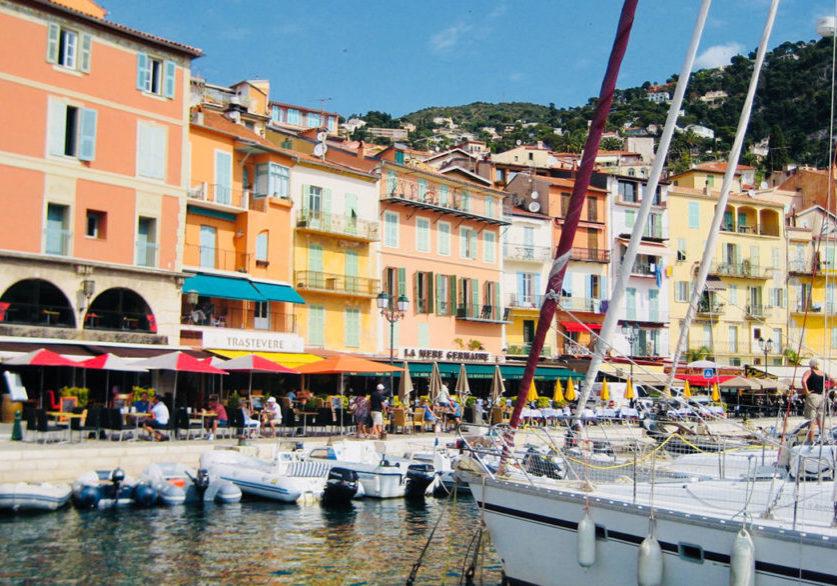 Villefranche-sur-Mer, Cote-d'Azur - Jane Dunning